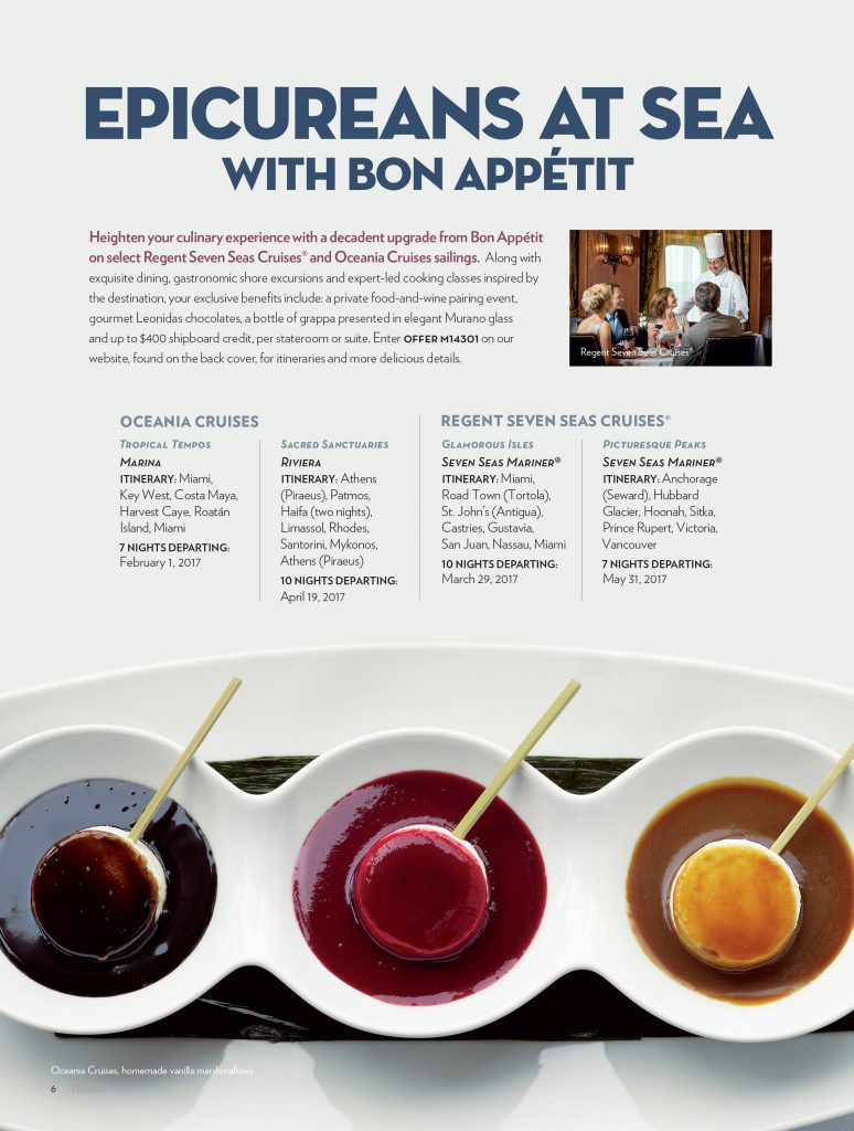 The Travel Magazine - Bon Appétit Ad