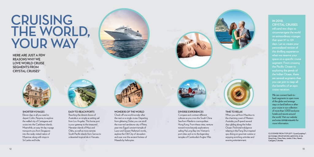 Travel Redefined Crystal Cruises Spread